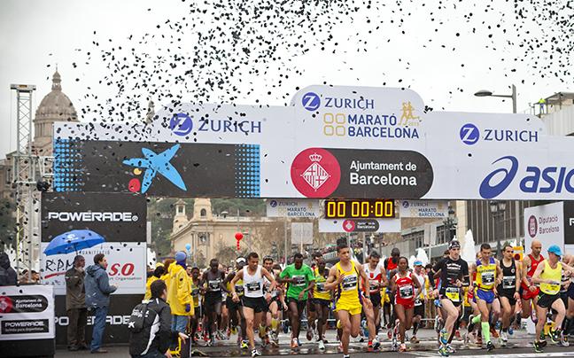 Banner maraton barcelona