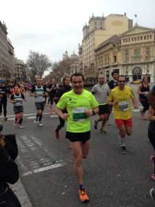 Km 5 Mitja Marató Barcelona 2014