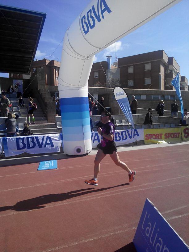 Llegada Media Maratón Gava 2014