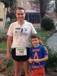 Empiezo la temporada con la media maratón de Sabadell