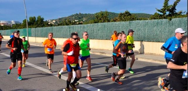 Km 17 Mitja Marató Sitges 2015