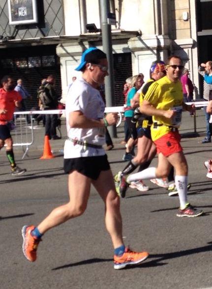 En la Maratón de Barcelona de 2014