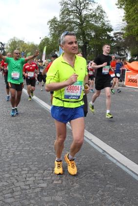 Llegada Maratón París 2015